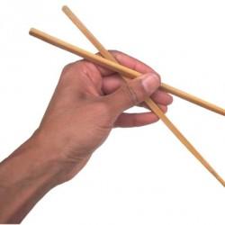Как есть палочками