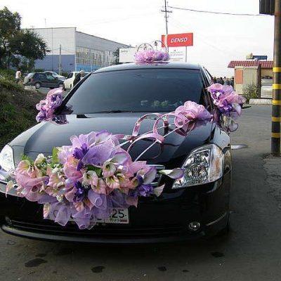 Свадебная машина украсить своими руками