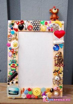 Простейшие рамки для фото своими руками