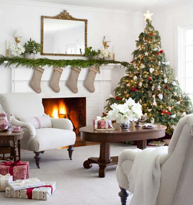 Кто как украшает квартиру к новому году