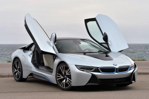 2015-BMW-i8-Front-Side-Open-Door