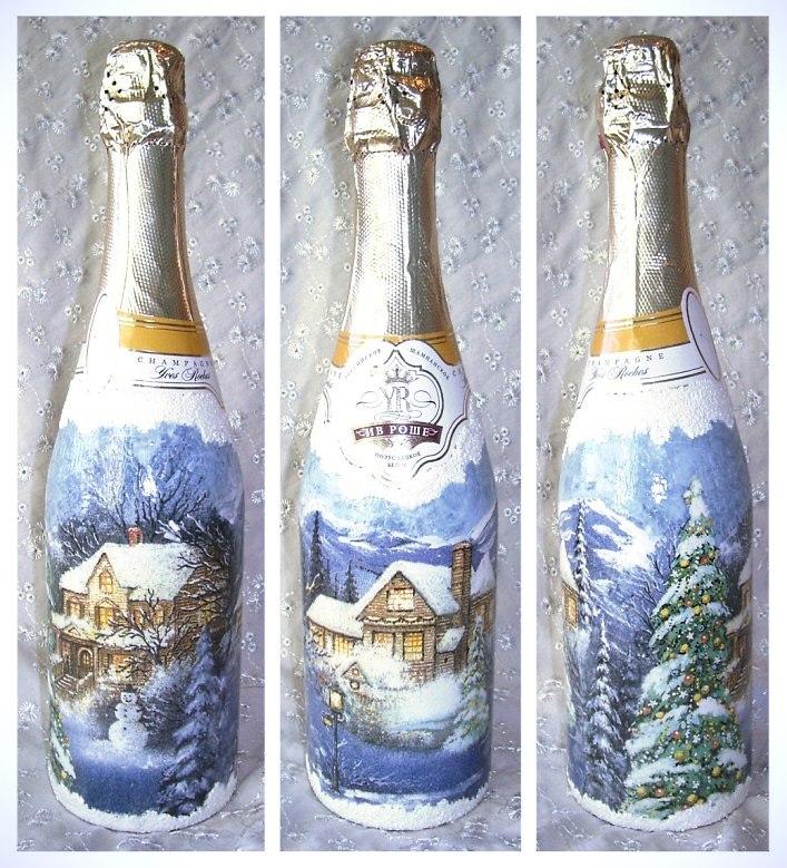 Шампанское к новому году своими руками мастер
