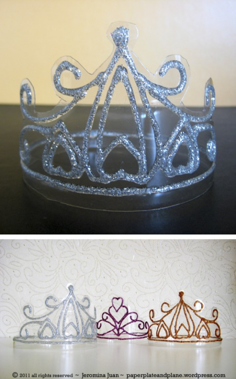 Корона для кукол своими руками