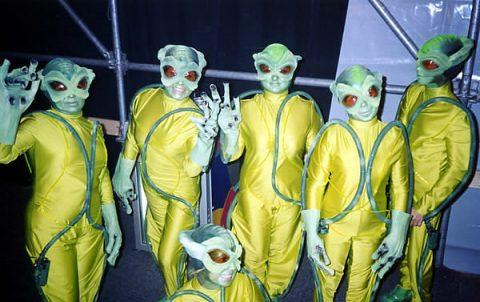 костюмы инопланетян