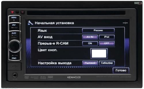 дисплей автомагнитолы