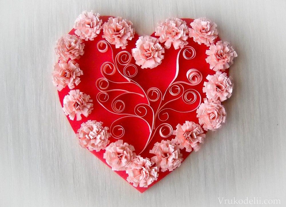 Фото валентинка своими руками