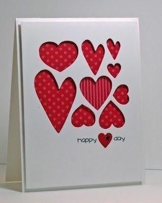 Сделать открытка день влюблённых своими руками