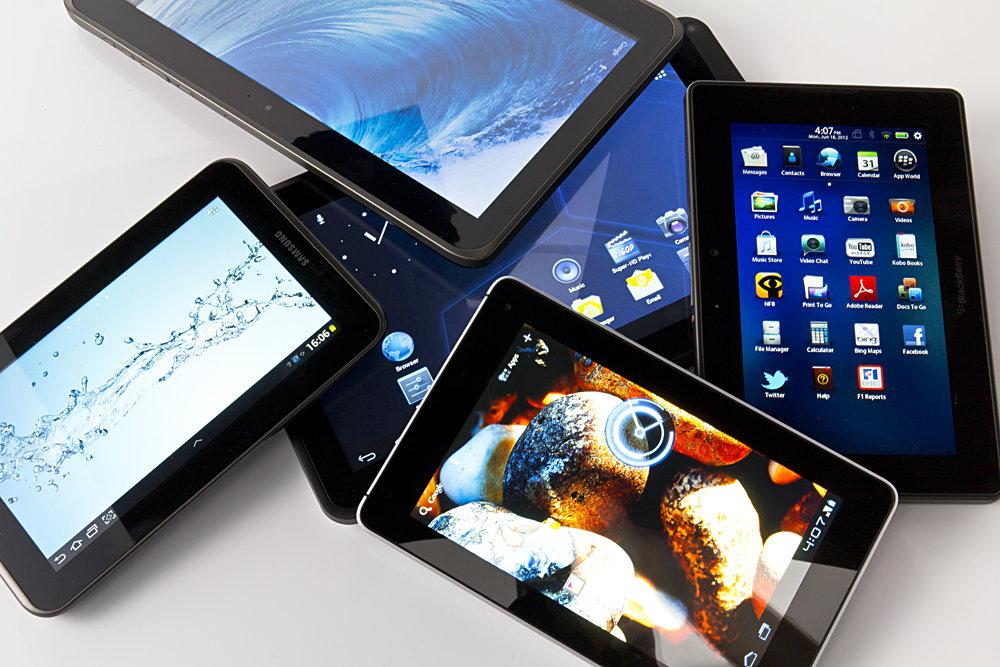 разные планшеты
