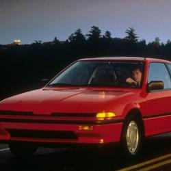 Acura Integra Coupe 1986 года