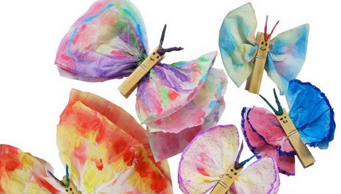 Бабочки своими руками с