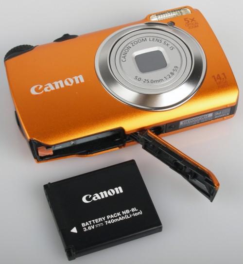 Батарея на фотоаппарат