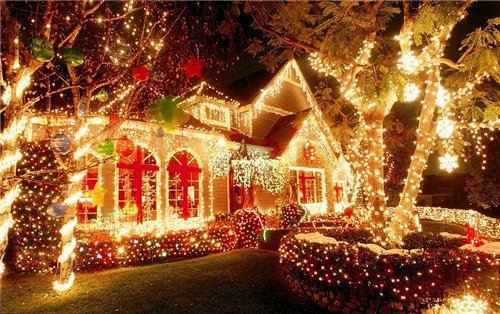 Как украсить дом на Новый год 2015?