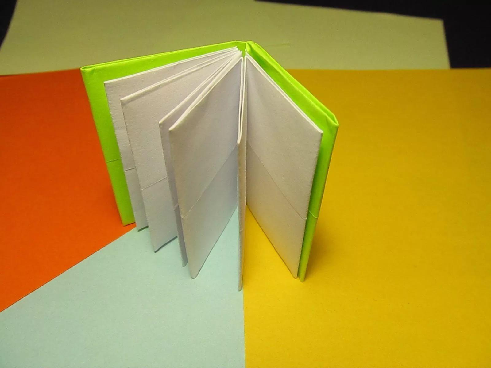 Как сделать книжку из бумаги простым способом