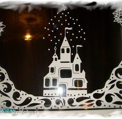 Своими руками на новый год на окна