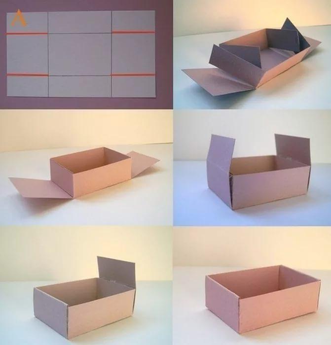 Коробка большая своими руками