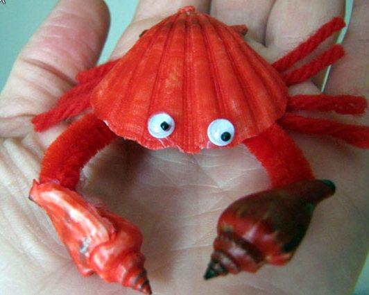 Поделки своими руками из морских ракушек и камней