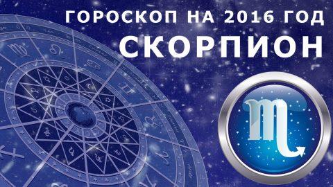 Гороскоп на 2016 год: Скорпион