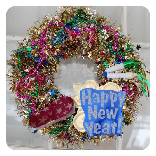 Новогодние венок своими руками на 2016 год