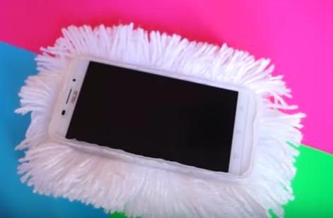Как сделать бампер для телефона из картона