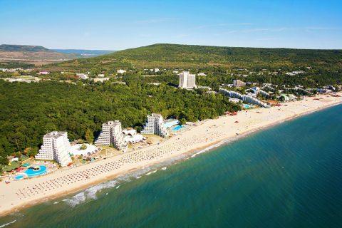 Самый лучший пляж Болгарии - Албена