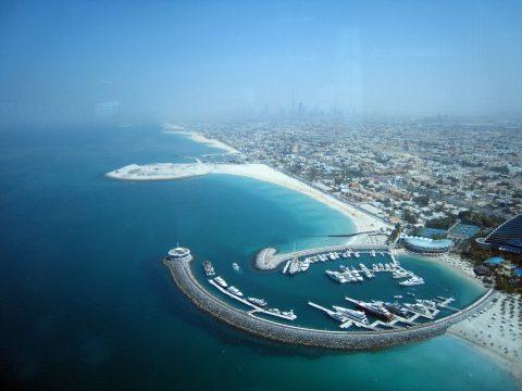 Jumeirah Beach and Marina