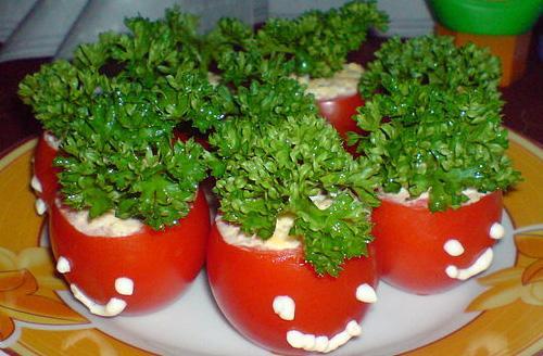 Фаршированные помидоры фото