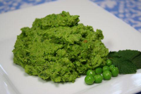 пюре из зеленой фасоли фото