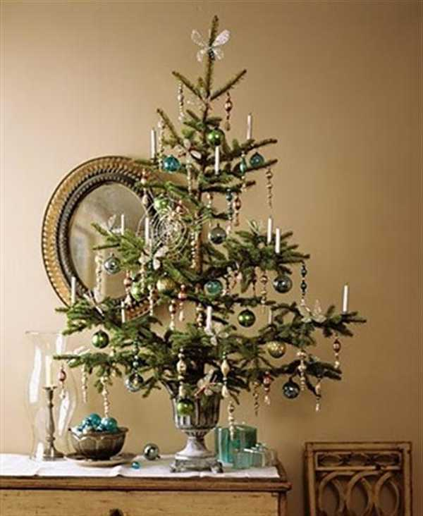 2017 50 for Christmas tree ideas for small spaces