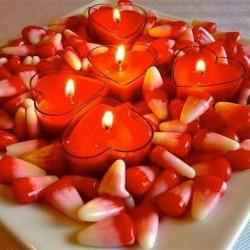 Учимся делать свечи на 14 февраля своими руками
