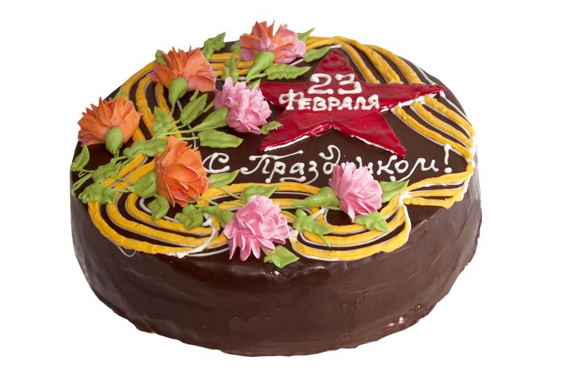 Торт к 23 февраля своими руками фото