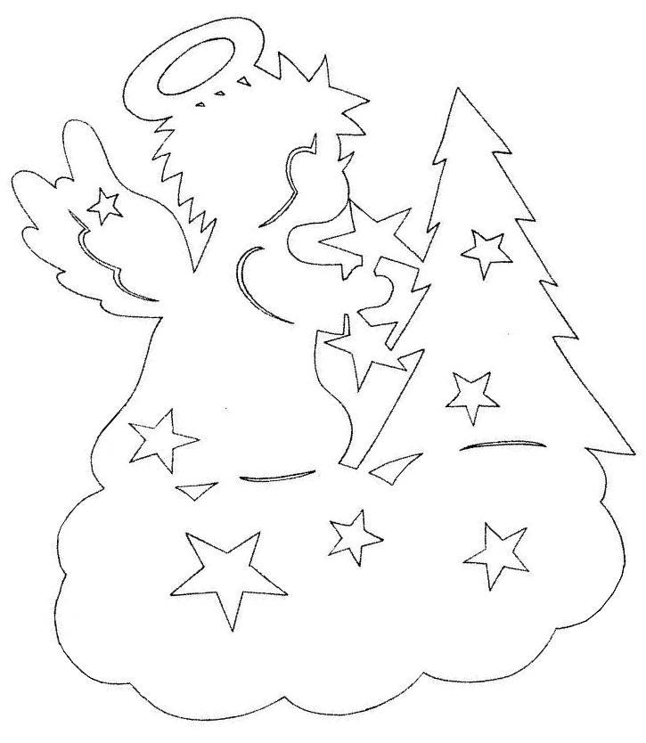 Украшение для окон на новый год трафареты шаблоны сосулек