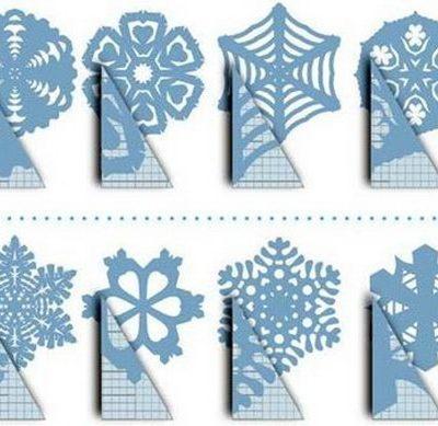 Фото красивых снежинок своими руками