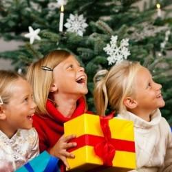 Весёлые новогодние конкурсы для детей 2017