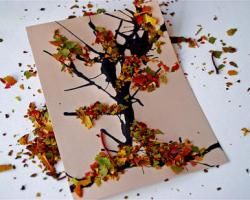 9 идей легких и красивых поделок из листьев своими руками