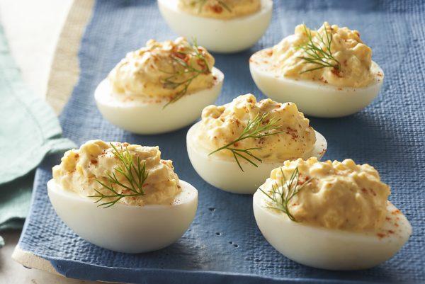 фаршированное яйцо