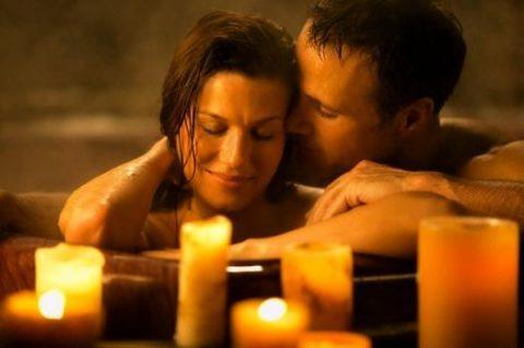 Романтический вечер в СПА-салоне