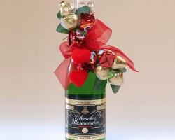 Как украсить бутылку шампанского на Новый год 2020 своими руками