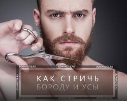 Как ухаживать за бородой?