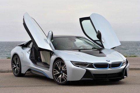 2015-BMW-i8-Front-Side-Open-Door