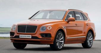 Bentley Bentayga Speed краткий обзор