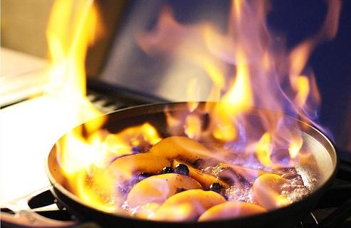 Десерт «Пламя»