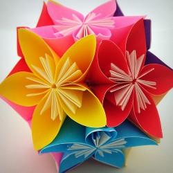 Лучшие поделки из модульного оригами