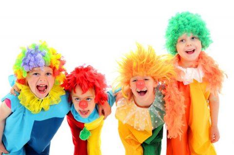 Funny little clowns