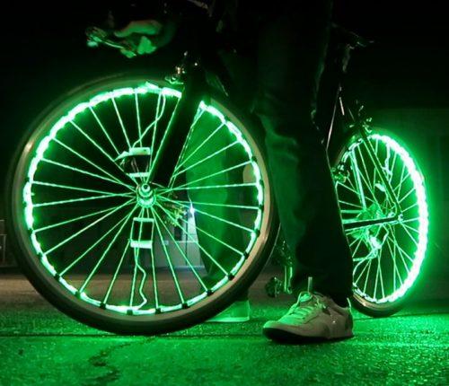 диоды для колёс на велосипеде
