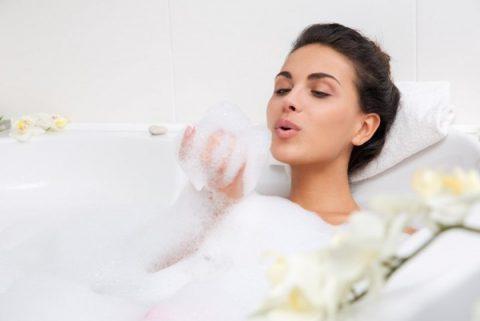 пена для ванны