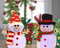 Как сделать снеговика на Новый Год 2019 своими руками