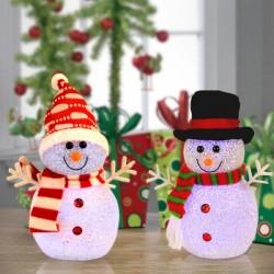Снеговики своими руками на Новый год 2018