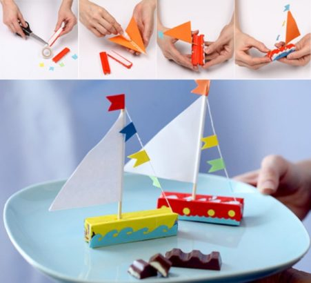Кораблики для сладкоежек
