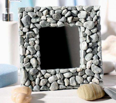 Фоторамка из камней