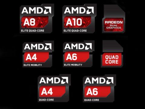 Модели AMD 2013